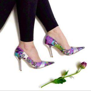 Aldo Floral High Heels